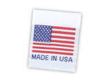 Woven Flag labels
