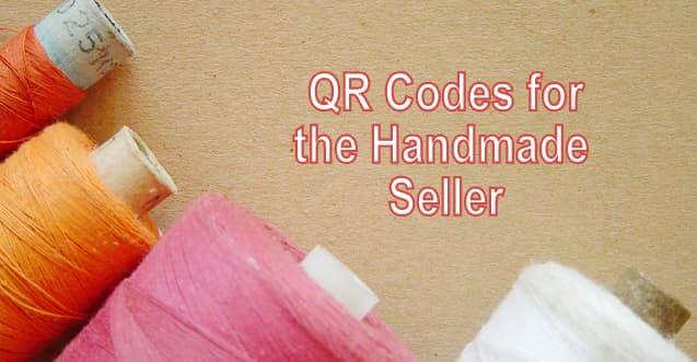 QR Codes, Handmade Seller, Craft Fair, Flea Market