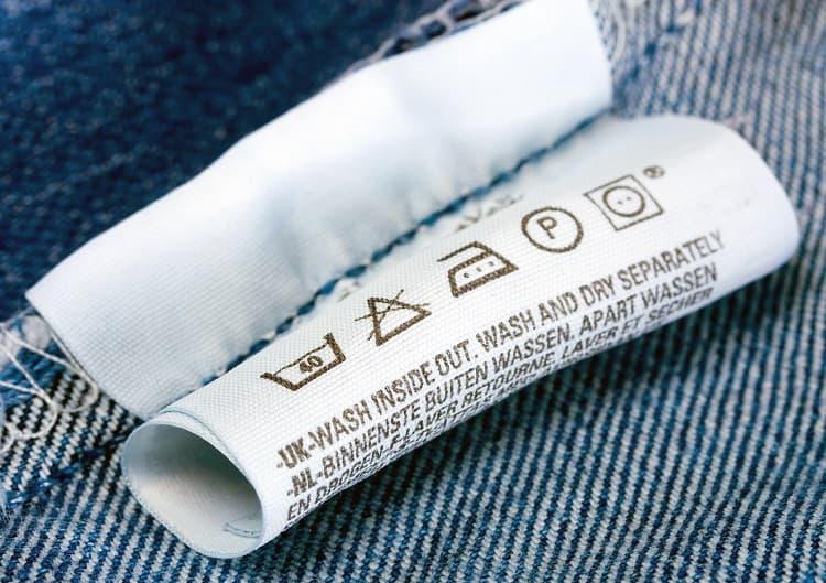 clothing label photo