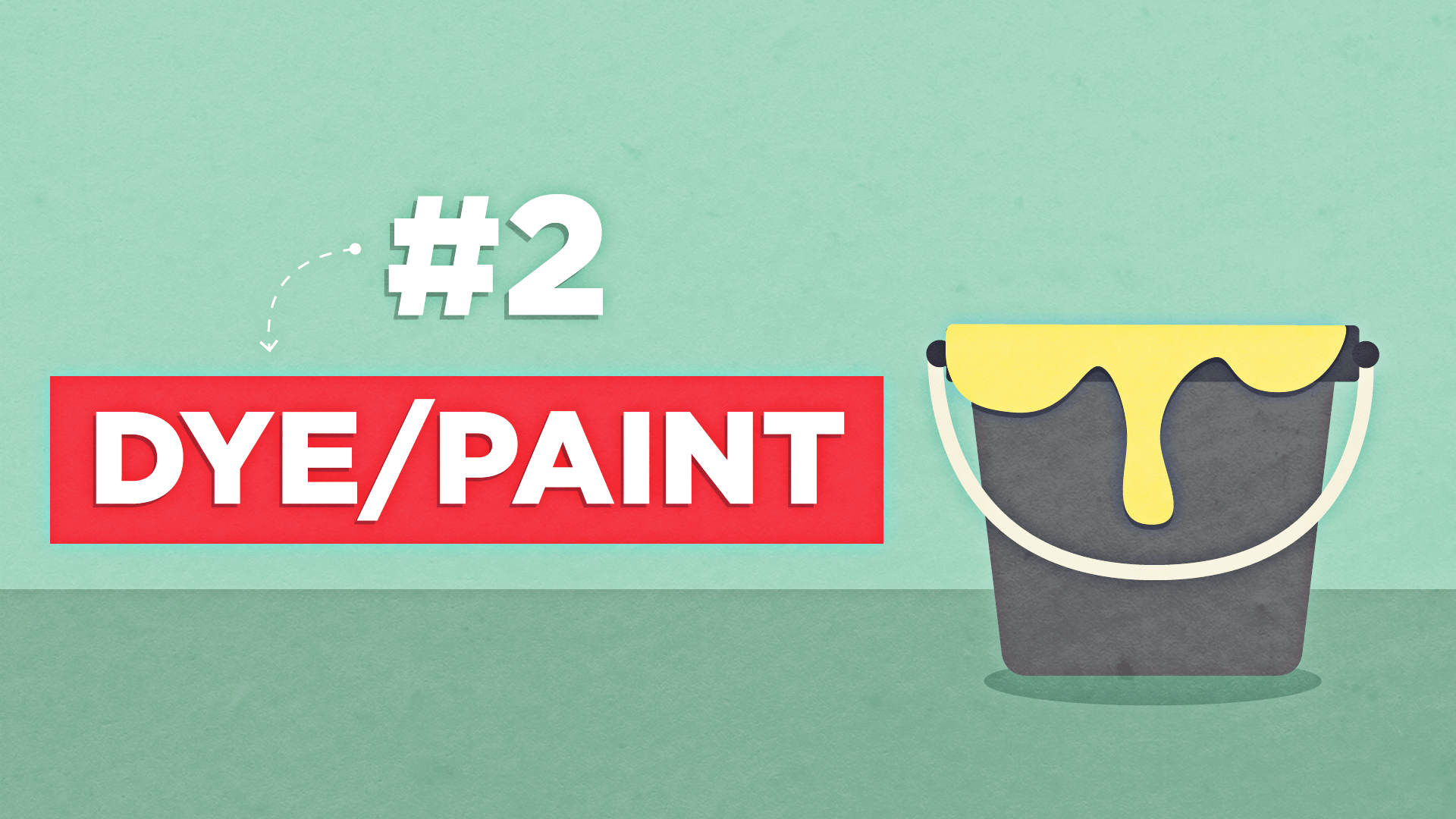 dye or paint your shirt