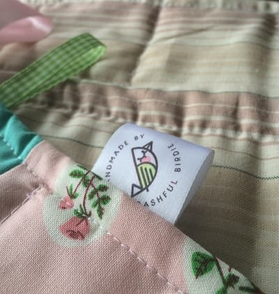 Quits, retro fabric, sewing, etsy, baby gifts