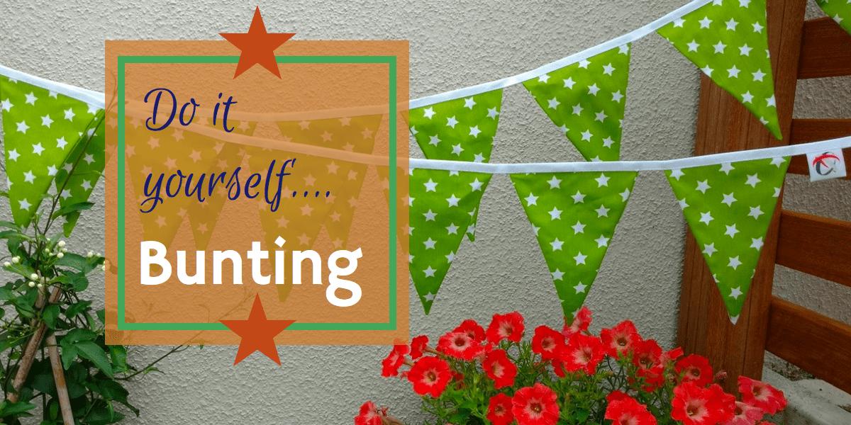 DIY Bunting, boho, wedding, party