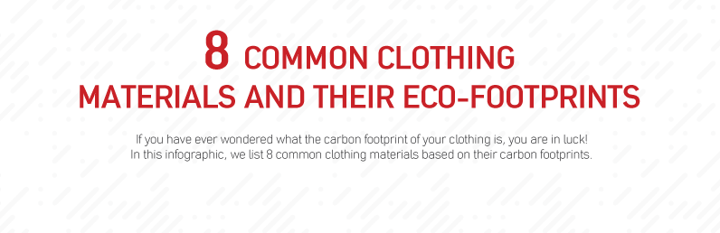 8 Common Clothing Materials and Their Carbon Footprints