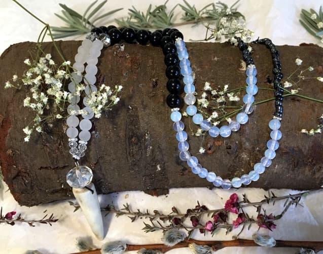 Fleece baby blanket, handmade, etsy, antler necklace, beaded