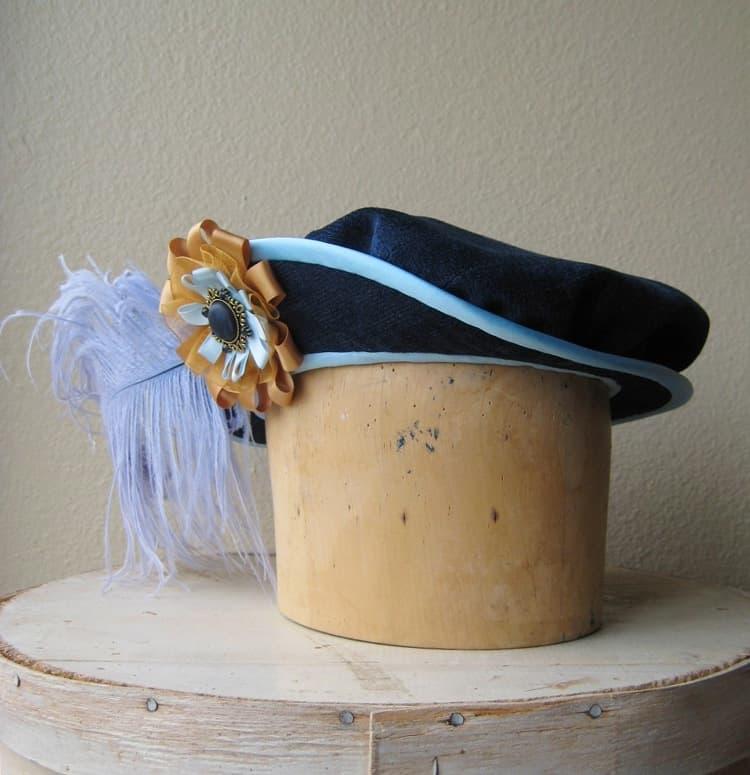 Hat, Millinery, Handmade, Etsy