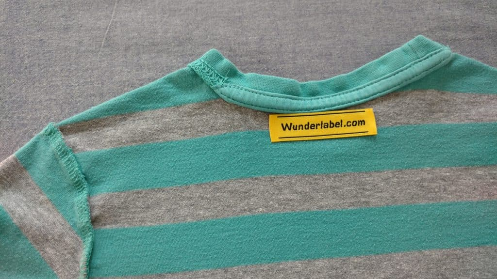 Iron on label, woven label, how to