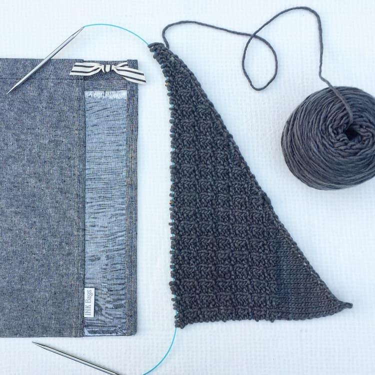 Ink Bags, yarn storage, knitting, notions