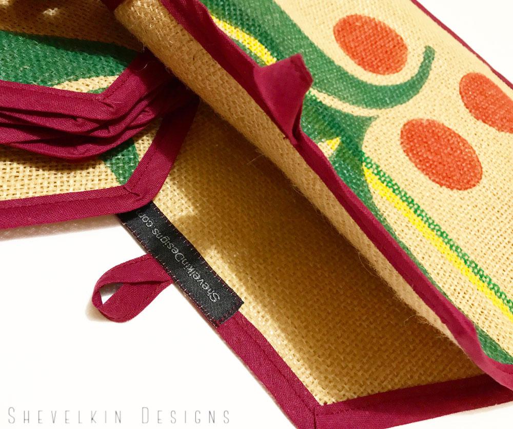 Coffee Cozie, Upcycled Cozie, Coffee Bean Bags