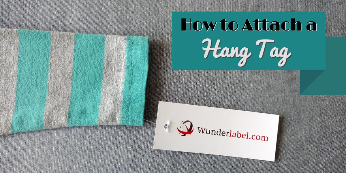 Attach Hang Tag, Branding, swing tags, how to hang tags, tagging gun