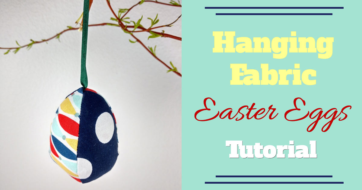 Fabric Easter eggs, Easter Crafts, Easter sewing, Easter decorations