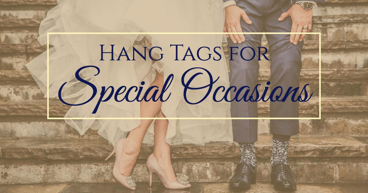 Wunderlabel Highlight: Hang Tags for Special Occasions