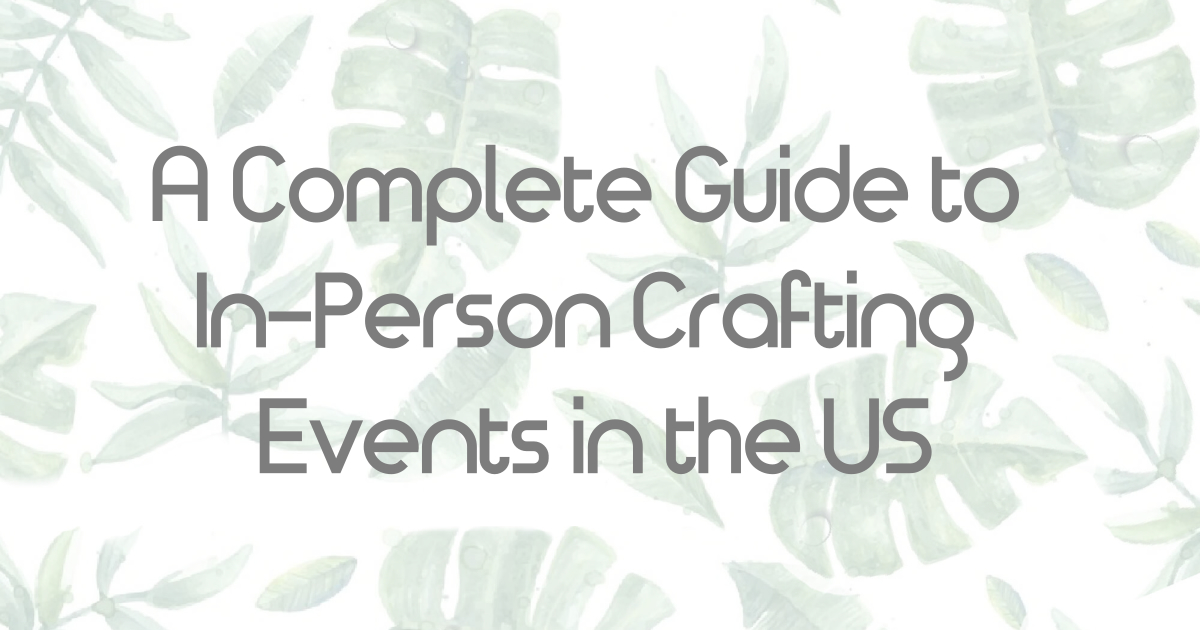 crafting events