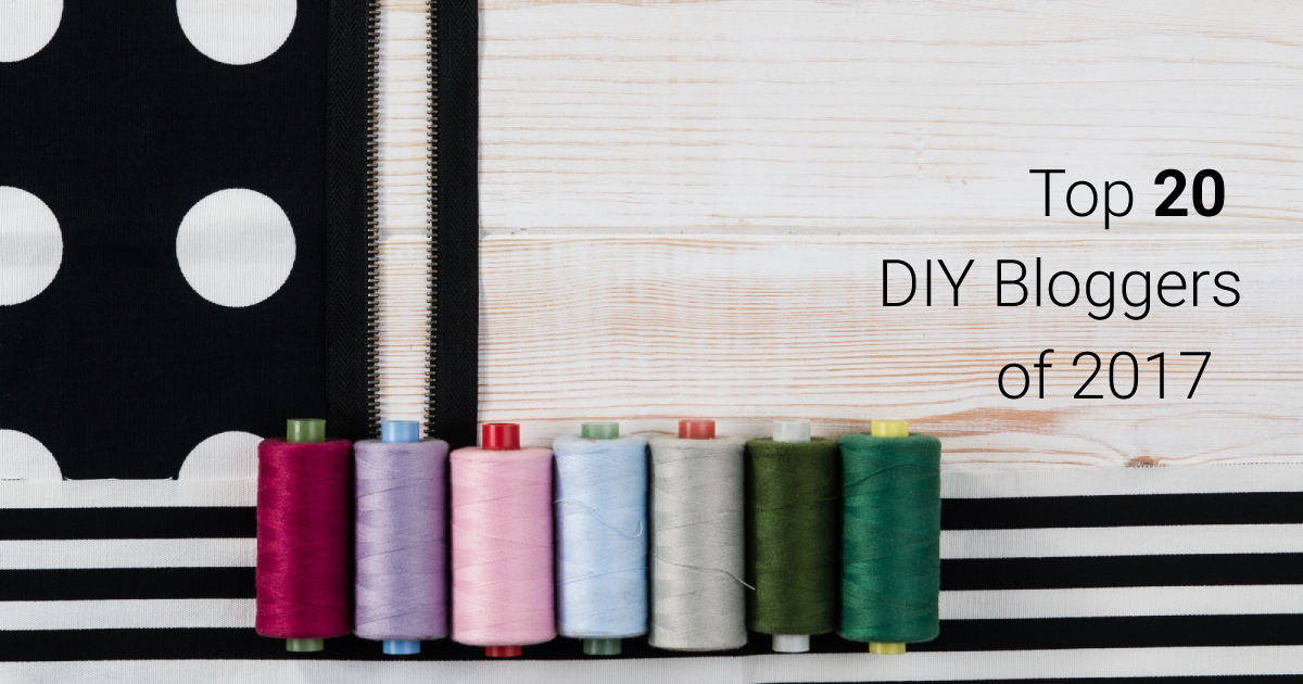 Top 20 DIY Bloggers of 2017