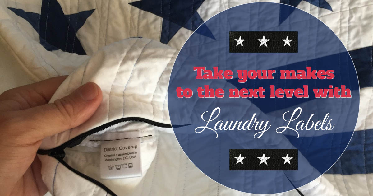 Take your makes to the next level with Laundry Labels!