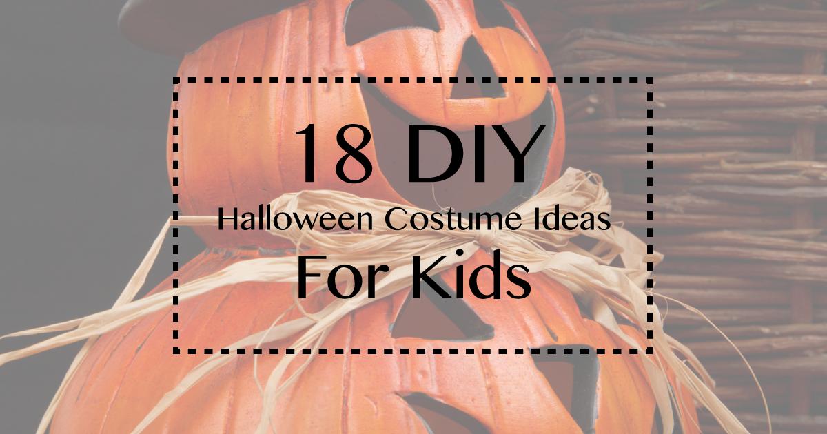 18 DIY Halloween Costumes for Kids