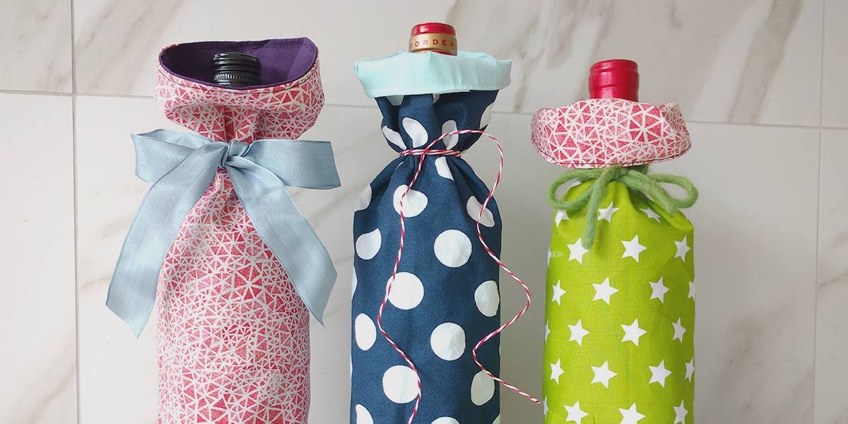 How to Make an Easy Wine Bottle Gift Bag
