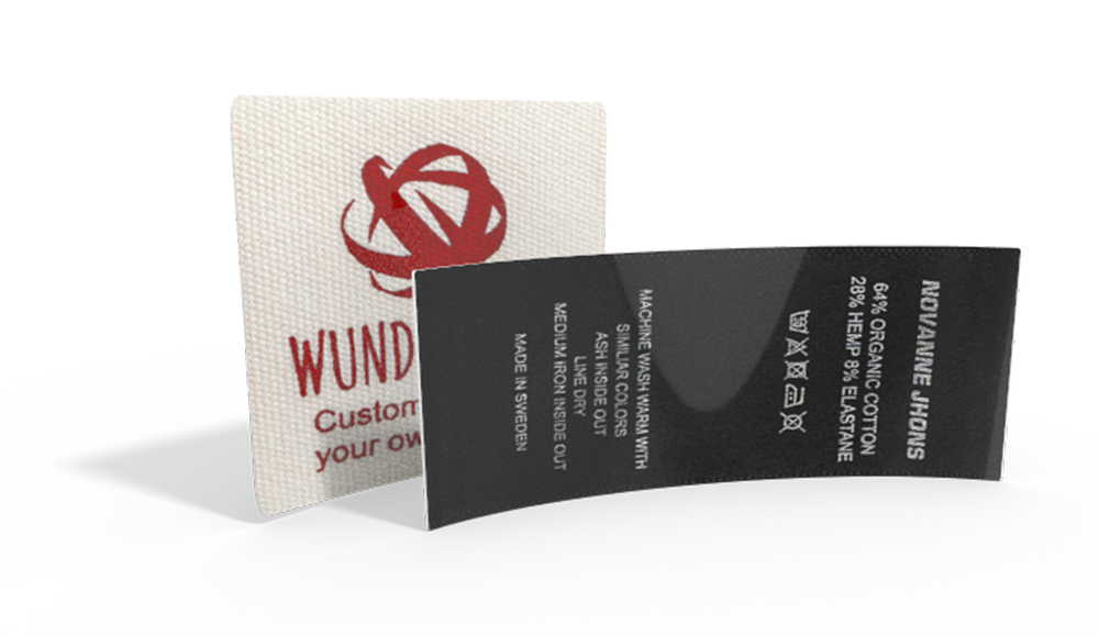 PRO Printed Fabric labels