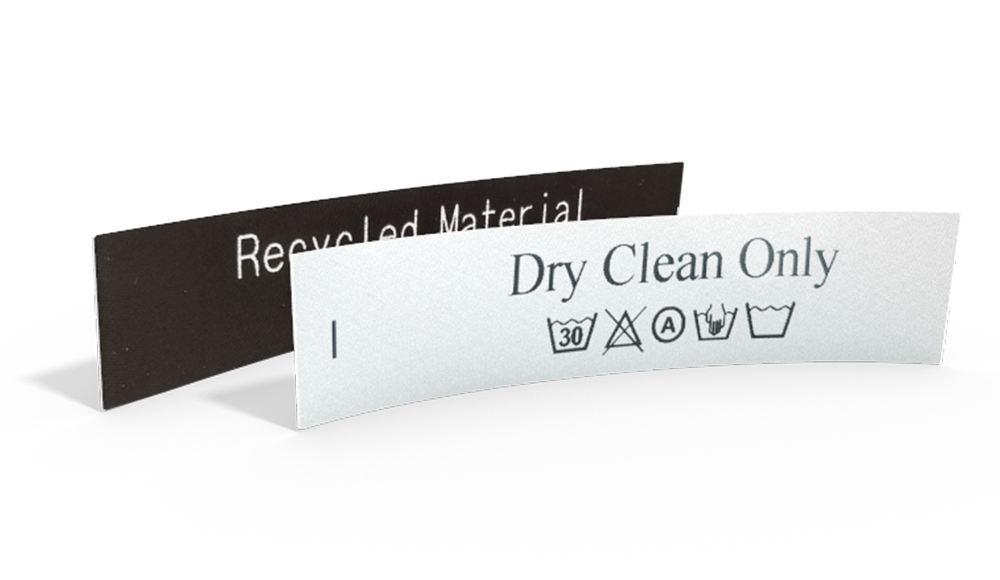 Printed Laundry Labels